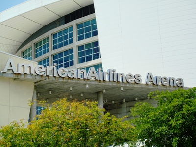 American Airlines Arena - Home of 2006 NBA Champions Miami Heat